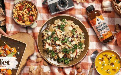 El otoño se deja caer en el  buffet de mercado de FrescCo