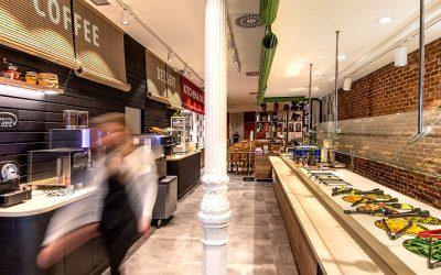 "La nueva imagen ""buffet de mercado"" de FrescCo llega a Madrid"