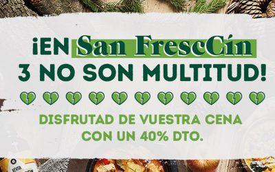 FrescCo apuesta por el amor libre, como su buffet de mercado